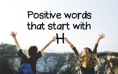 Positive Words That Start With H