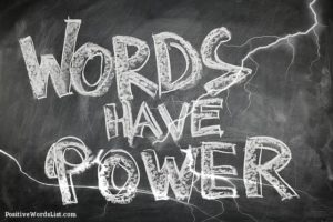 positive power words